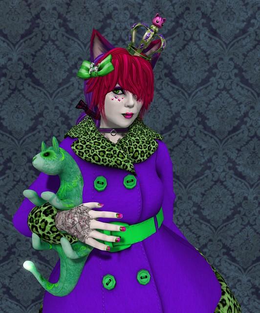 cheshire queen
