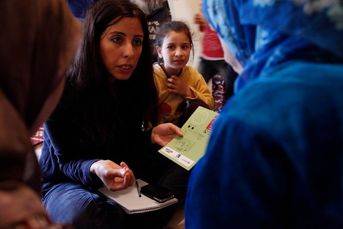 Providing access to support for Syrian girls and women at risk of gender-based violence and early or forced marriage