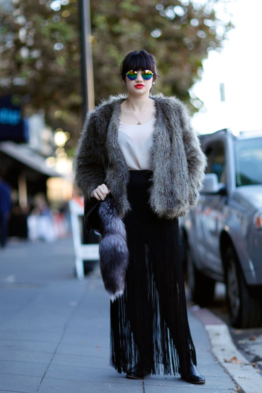 fur1_val Quick Shots, San Francisco, street fashion, street style, Valencia Street, women
