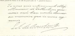 """British Library digitised image from page 589 of """"Documents originaux de l'histoire de France exposés dans l'Hôtel Soubise; ouvrage enrichi de 1,200 fac-simile des autographes les plus importants depuis l'époque Mérovingienne jusqu'à la Révolution Françai"""