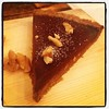 Chocolate ganache torte at @solfeggiofoods. YUM! #vegan #pemberton #whistler