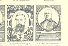 """British Library digitised image from page 223 of """"Grand Dictionnaire historique, généalogique et biographique de la Haute-Marche, département de la Creuse [Illustrated.]"""""""