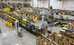 assembly line, mass production, machine, industry, factory,
