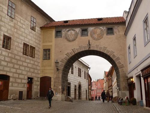 Calle Latran (Cesky Krumlov)
