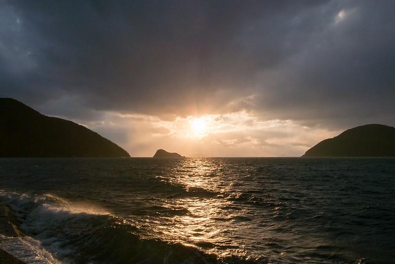 iwaishima sunset