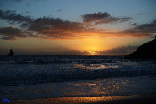 Sunrise .. Broadhaven South, Pembrokeshire.