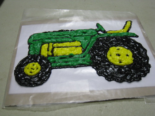 Tractor cake part one | always time to procraftinate