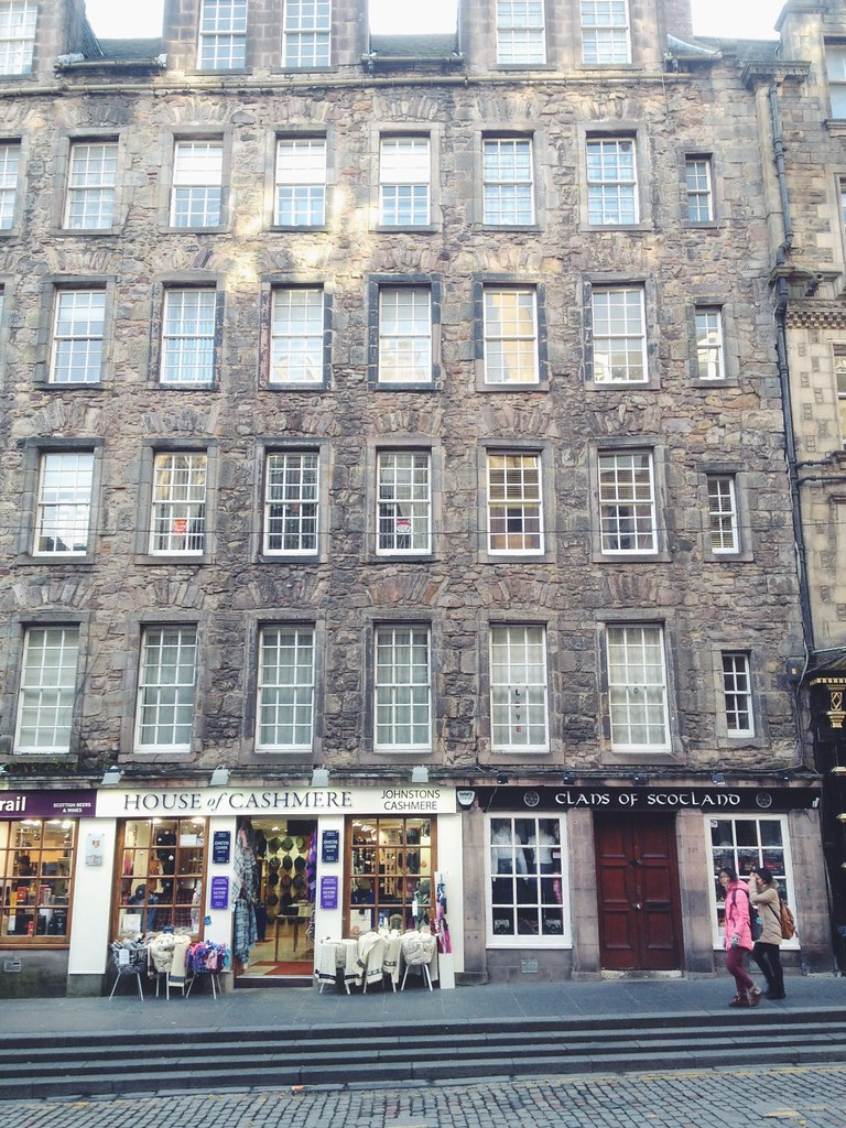 Souvenir Shops, Royal Mile, Edinburgh