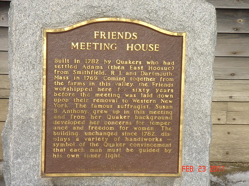 Quaker Meeting House by midgefrazel