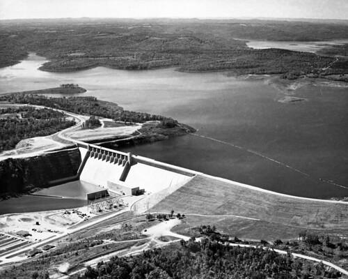 water dam missouri hydroelectric missourihistory