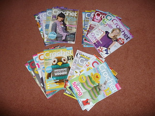 Inside Crochet Magazines For Sale £1.00 each plus postage.