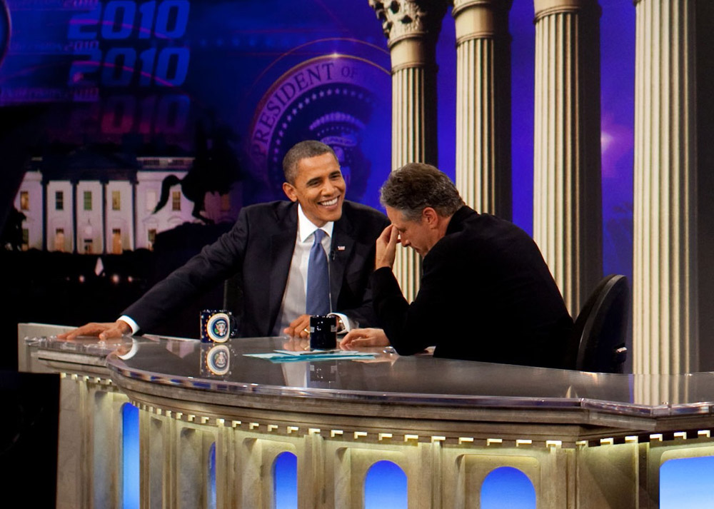 Obama on the Daily Show with Jon Stewart