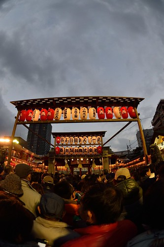 One scene of Toka-ebisu festival in Imamiya-ebisu Shinto Shrine No.1