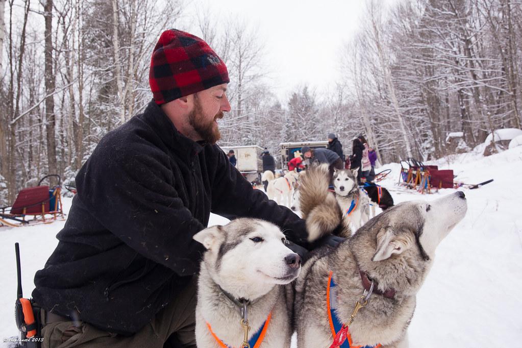 dogsledding Ontario