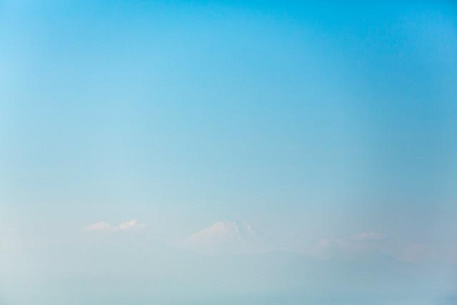 新春の富士 パークハイアット東京