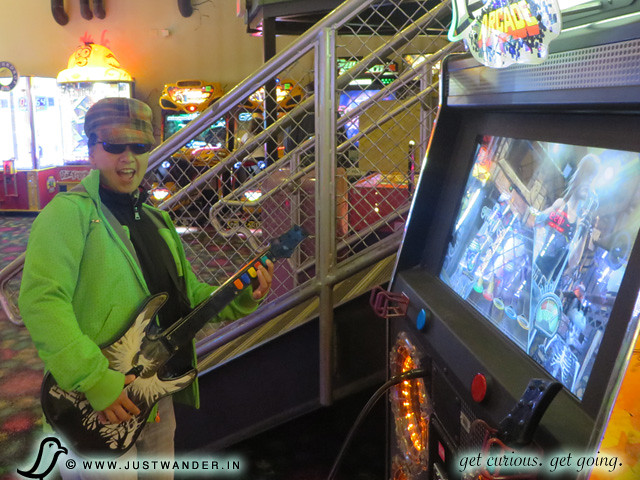 PIC: Arcade games at Islands of Adventure theme park
