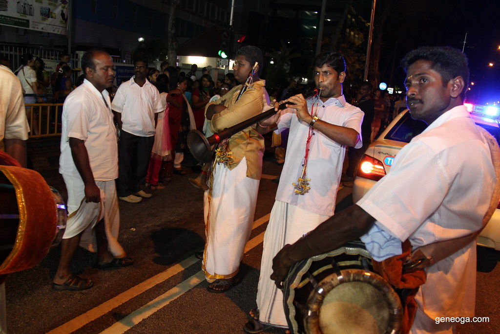 "The ""Band"" accompanying devotees on their journey of faith"
