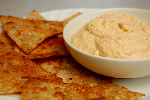 Chipotle Hummus :: Recipe