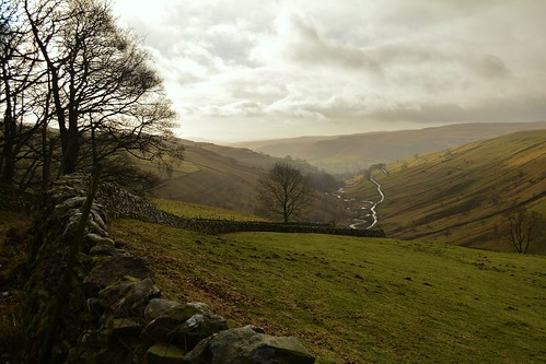 View towards Wharfedale from the Coverdale road out of Kettlewell