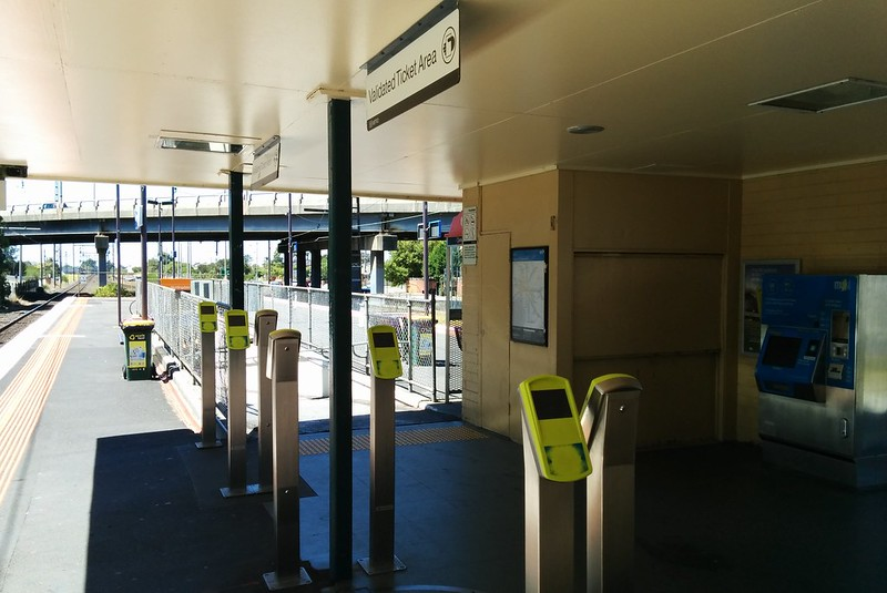 Myki readers, Huntingdale station
