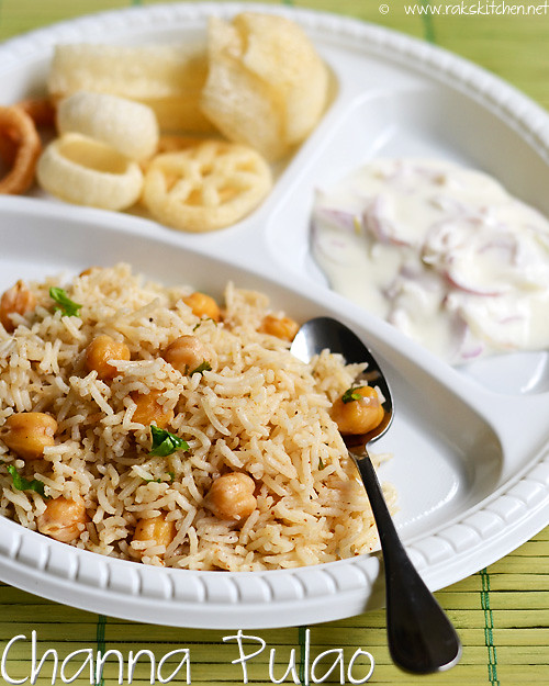 Easy Channa Pulao Recipe