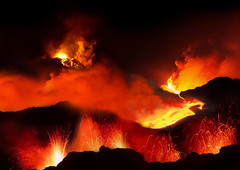 types of volcanic eruptions, wildfire, lava, fire, flame,