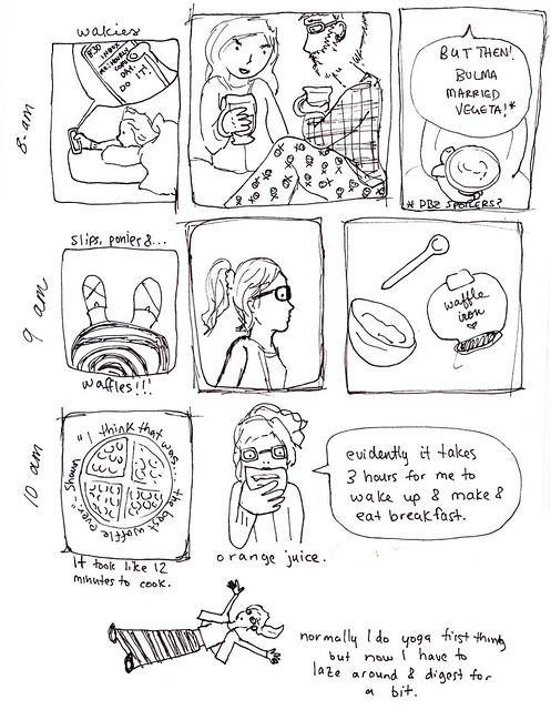 hourly comic day!