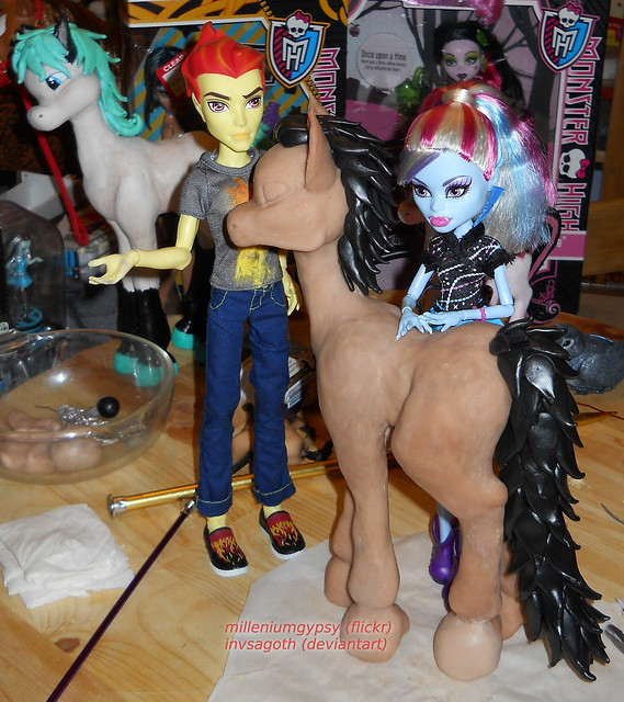 Pony!Loki sculpt continued