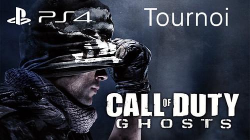 PS4 Tournoi CoD