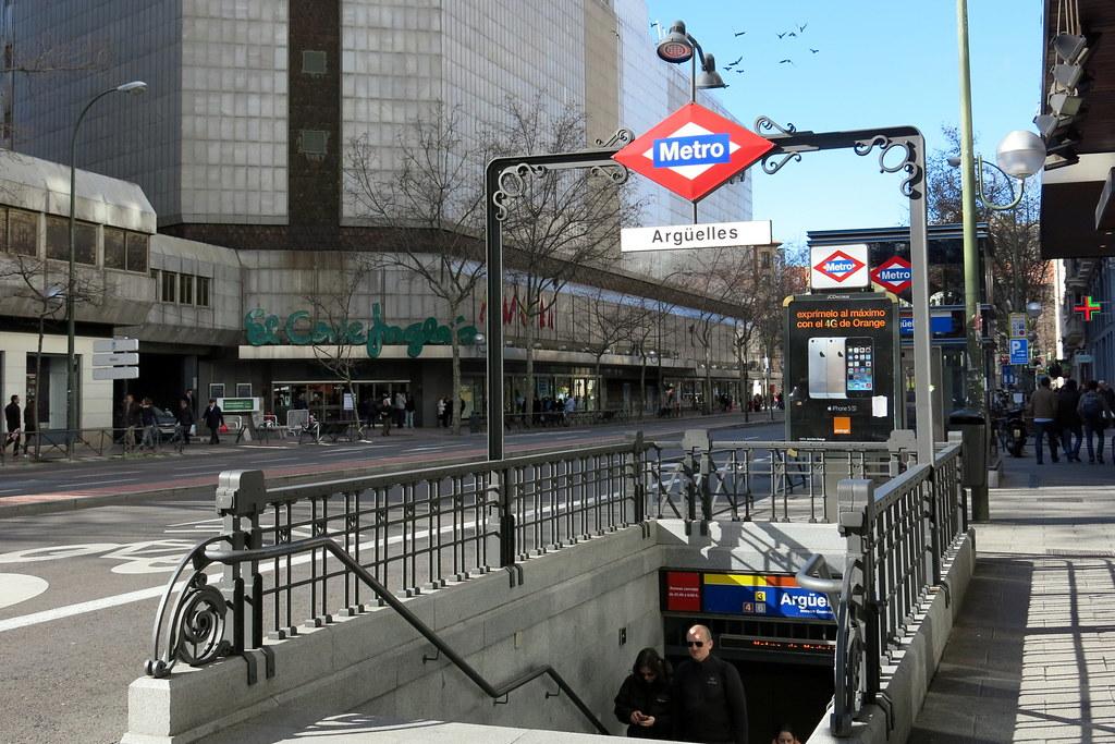 Barrio de Argüelles de Madrid