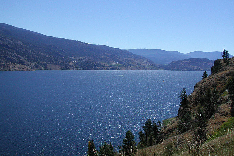Skaha Lake, Penticton, Okanagan Valley, British Columbia, Canada