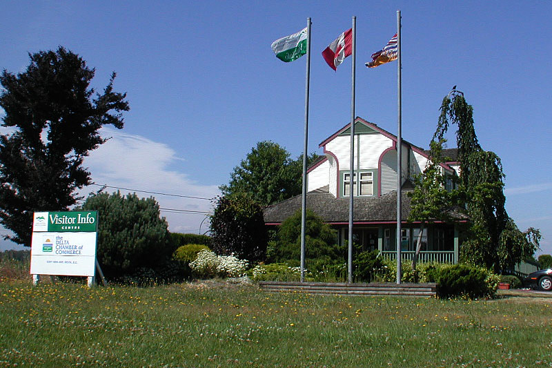 Delta Visitor Centre, Delta, Greater Vancouver, British Columbia, Canada