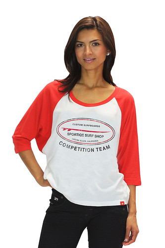 Womens Classic Surf Shop T Shirt