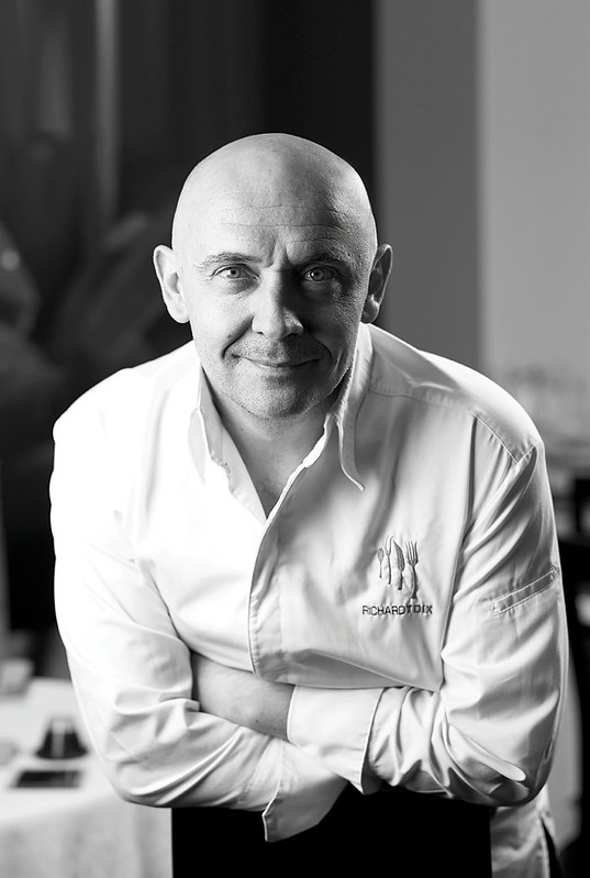 Michelin Chef Richard Toix