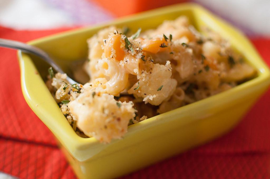 Cauliflower Mac-n-Cheese