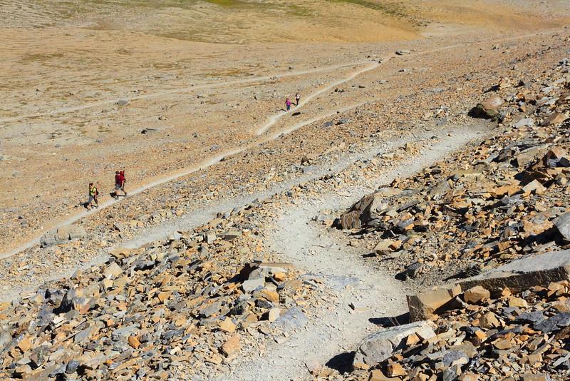 IMG_3989 Switchbacks of Siyeh Pass Trail