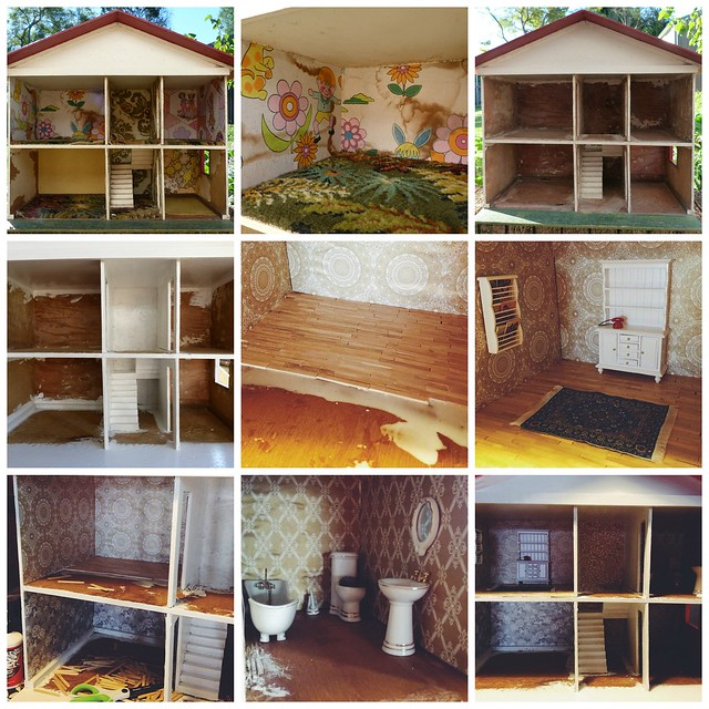 Doll house renovation
