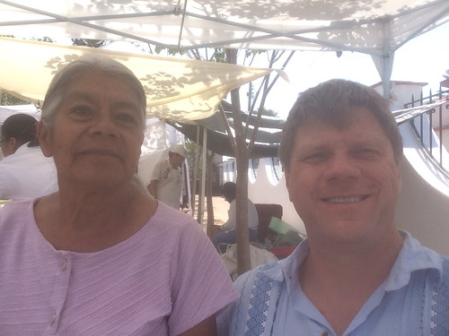 Lucia and Ron, Tianguis Pochote Xochimilco @ Oaxaca 04.2014 #pochimilco