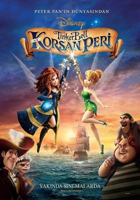 Tinker Bell ve Korsan Peri - Tinker Bell: The Pirate Fairy (2014)