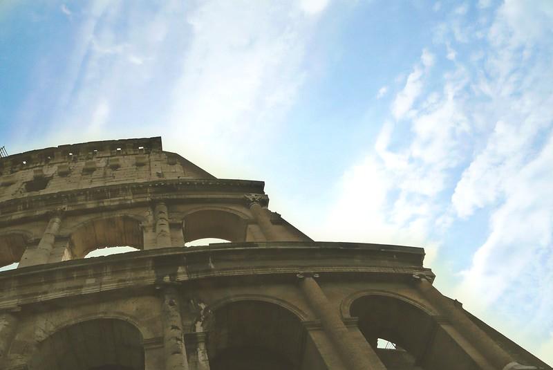 Coloseum and sky