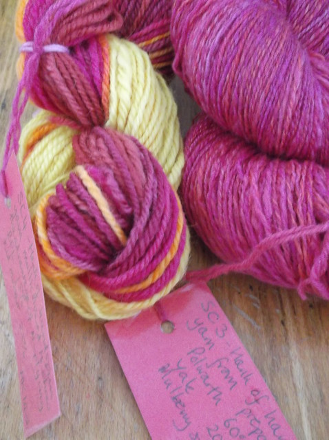 Fibre East yarn