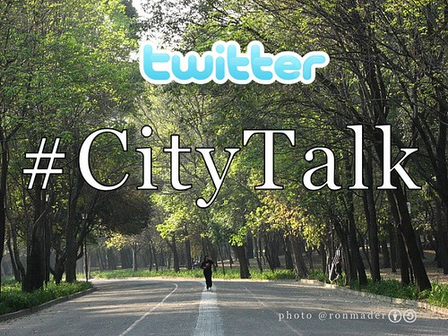 #Citytalk is a Tweetchat held the third Wednesday of each month hosted by @thisbigcity @futurecapetown