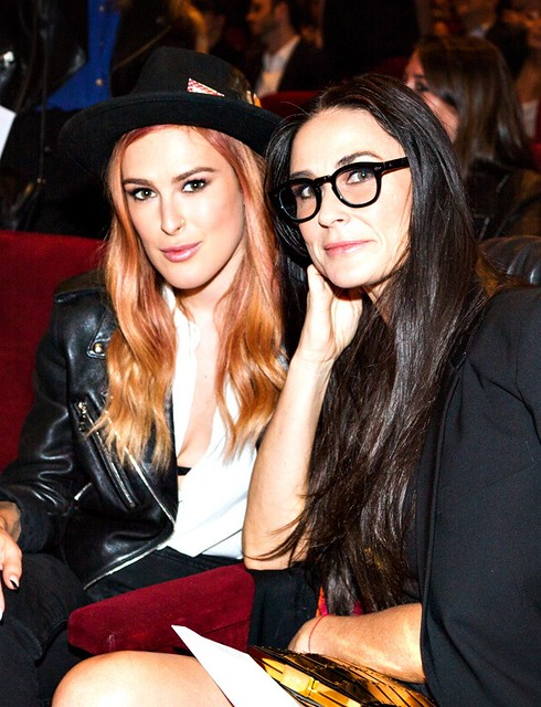 Rumer Willis and Demi Moore at Palo Alto LA Premiere, a Flux event