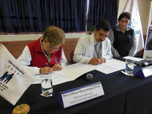 CASP y el Hospital I Octavio Mongrut - EsSalud firman alianza estratégica para actividades integrales de promoción de salud 002