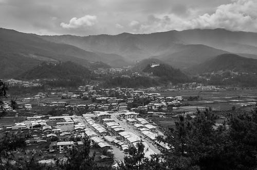 Jakar and the Jakar Dzong
