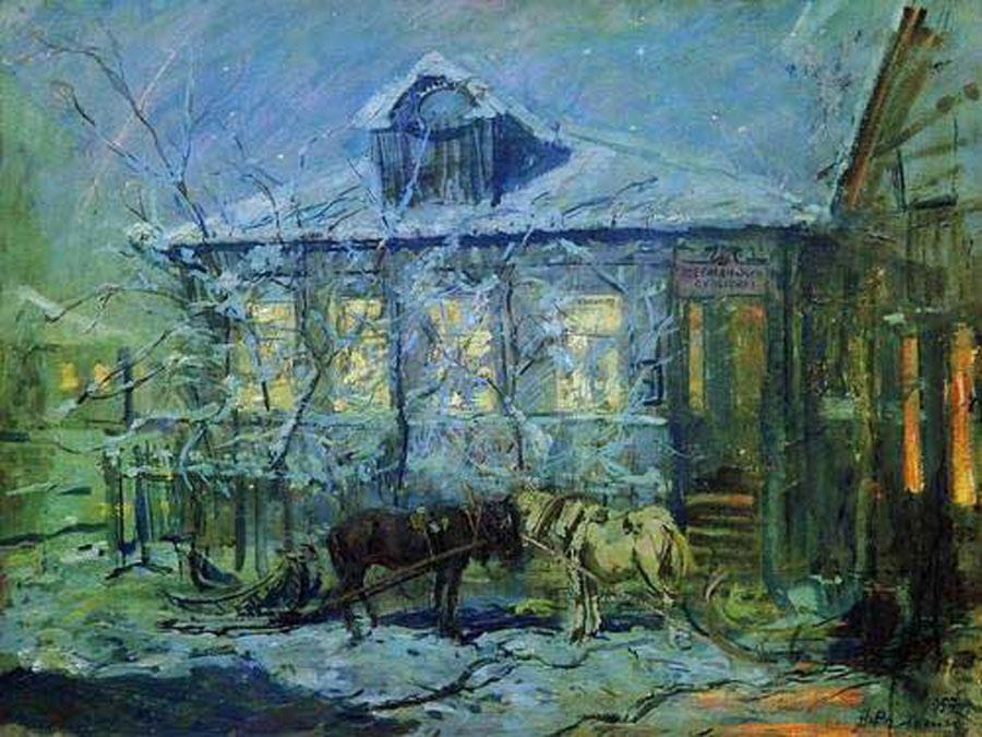 20世纪俄罗斯绘画杰作8