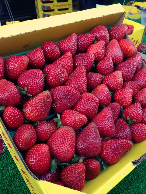 Strawberries in Chico