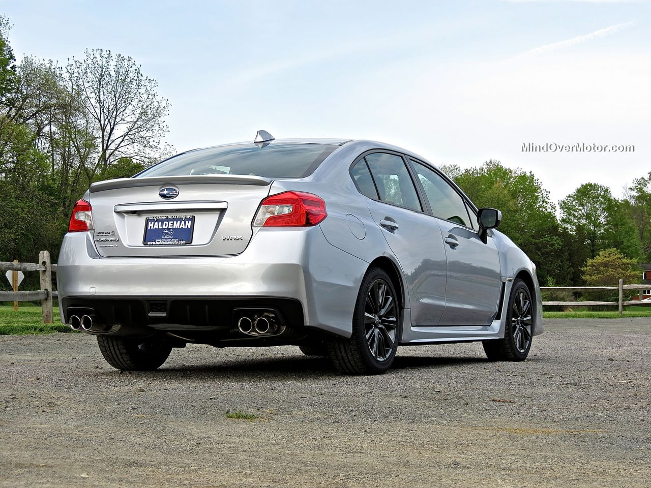 2015 Subaru WRX Rear by Mind Over Motor
