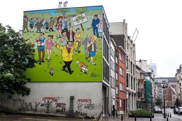 F. C. de Kampioenen - Hec Leemans (abril de 2011). Rue du Canal/Vaartstraat 27