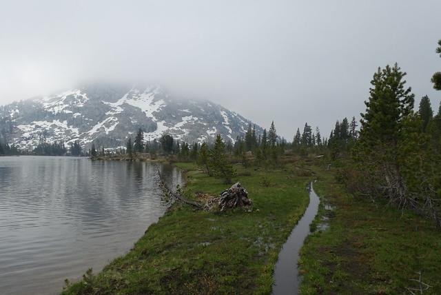 Dorothy Lake, gloomy
